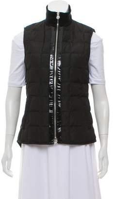 Tory Burch Sleeveless Zip-Up Vest