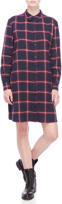 Scotch & Soda Soft Brushed Flannel Check Dress