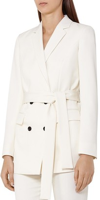 REISS Angie Belted Jacket $500 thestylecure.com