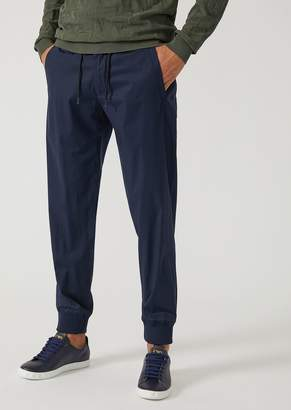 Emporio Armani Stretch Cotton Joggers