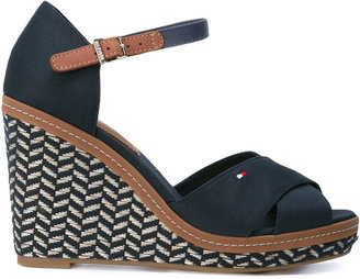 Tommy Hilfiger wedged sandals $95.78 thestylecure.com