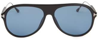 57MM Injected Aviator Sunglasses