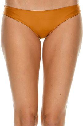Rvca Solid Cheeky Bikini Bottom $35.95 thestylecure.com