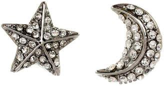 Amrita Singh Star & Moon Crystal Studs