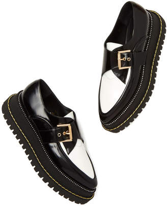 No.21 No. 21 Leather Creeper Loafers