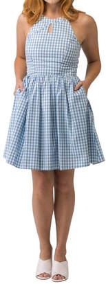 Smak Parlour Blue Gingham Dress