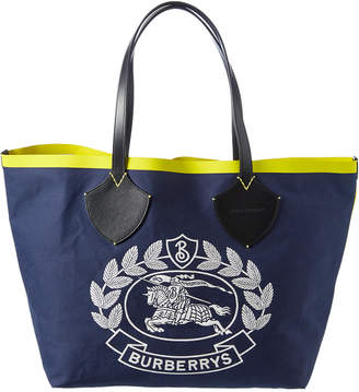 Burberry Giant Archive Crest Cotton Tote
