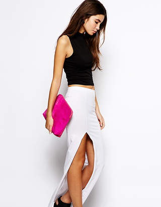 Asos Exclusive Maxi Skirt with Thigh Split