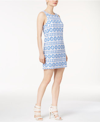 kensie Lace Shift Dress $99 thestylecure.com