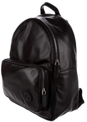 Giorgio Armani 2017 Zaino Leather Backpack w/ Tags