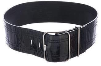 Roger Vivier Patent Waist Belt