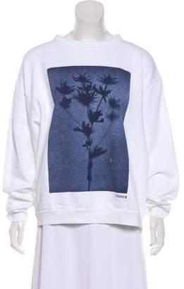 Acne Studios Long Sleeve Printed Sweatshirt
