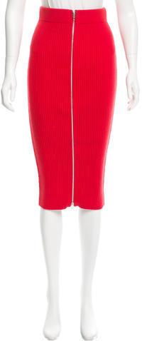 Alexander WangT by Alexander Wang Knit Midi Skirt