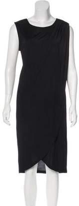 Rachel Zoe Draped Midi Dress