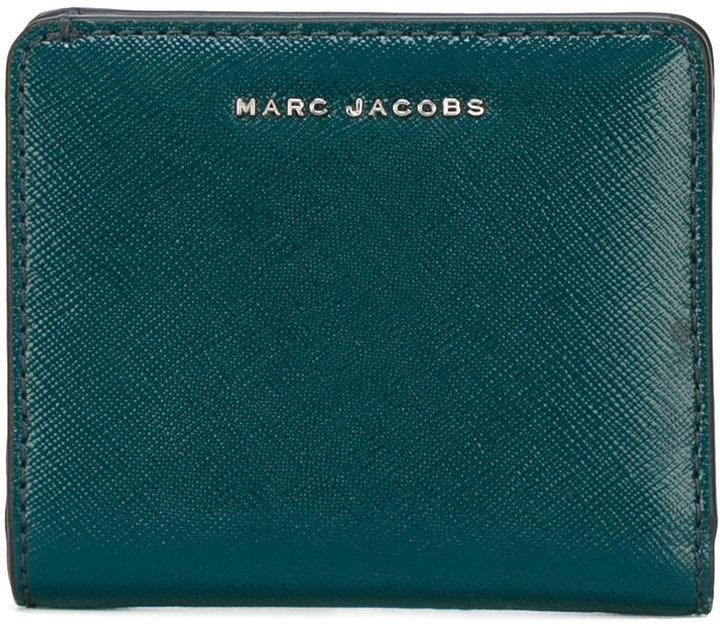 Marc JacobsMarc Jacobs Saffiano Bi-colour Open Face Billfold wallet