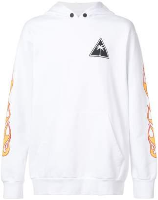 Palm Angels Palms & Flames hoodie