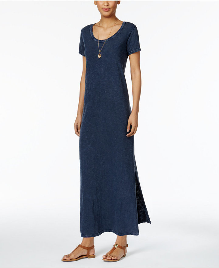 Style & Co Cotton Maxi Dress, Only at Macy's