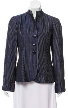 Armani Collezioni Silk-Blend Jacket