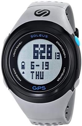 Soleus Unisex SG100-077 GPS FIT Fitness Digital Watch