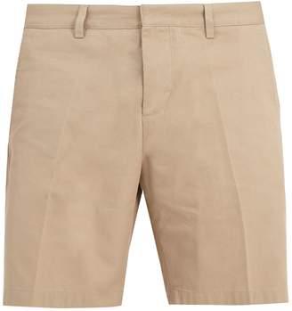 Ami Mid-rise straight-leg chino shorts