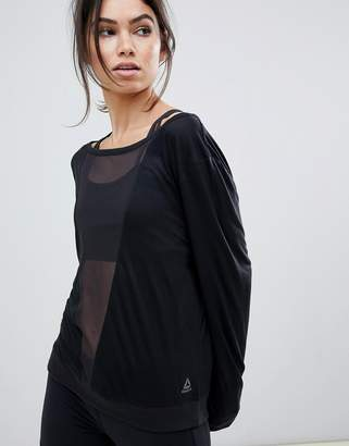 Reebok Training Mesh Long Sleeve Tee