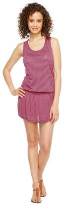 Splendid Malibu Stripe Dress Cover-Up Women's Dress