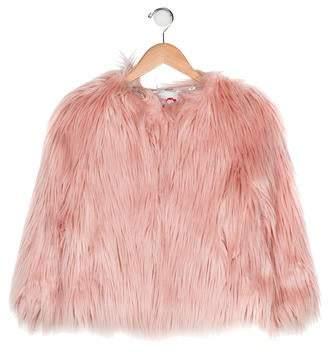 4b00010ea Appaman Fine Tailoring Girls' Faux Fur Jacket