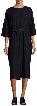 Tibi Owen Twill Meryl Dress
