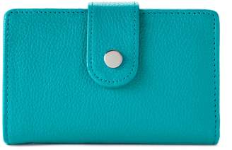 Apt. 9 Soho Leather RFID-Blocking Tab Indexer Wallet