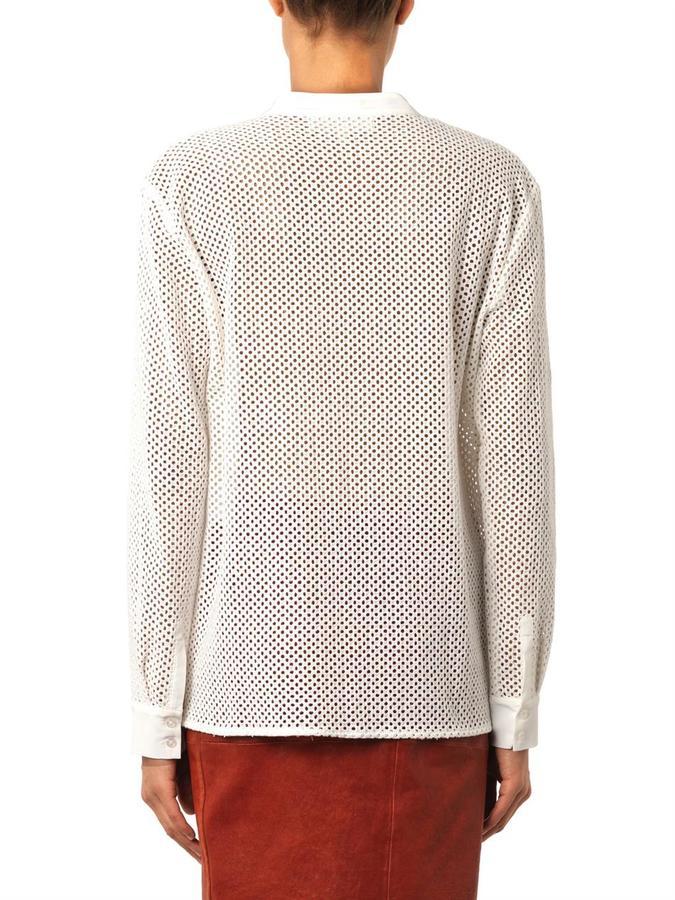 Vanessa Bruno Britney broderie-anglaise shirt