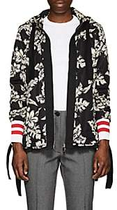 Moncler Women's Moirion Floral Tech-Faille Jacket - Black