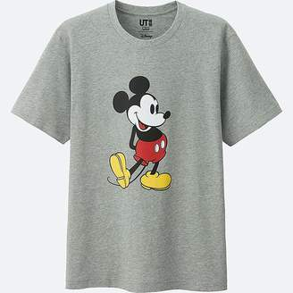 Uniqlo Mickey Stands Short Sleeve Graphic T-Shirt