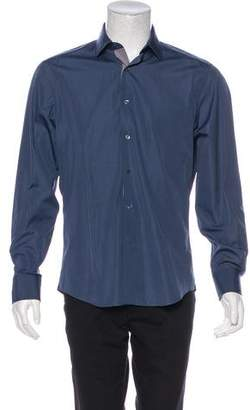 Lanvin Woven Dress Shirt