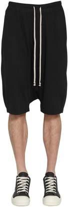 Rick Owens PODS COTTON BLEND SHORTS