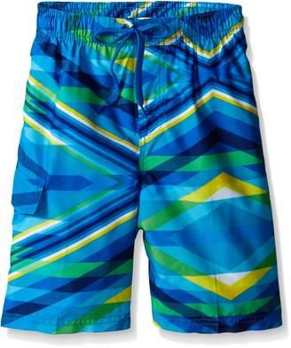 Kanu Surf Little Boys Energy Swim Trunks