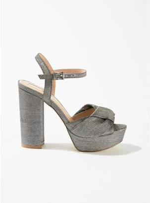 Miss Selfridge - Hunter Bow Block Heeled Sandals