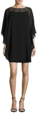 Xscape Evenings Embellished Overlay Dress