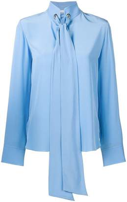 Chloé riveted pussy bow shirt