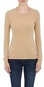 Barneys New York WOMEN'S CASHMERE CREWNECK SWEATER-CAMEL SIZE XS