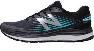 New Balance Womens Synact Stability Running Shoes Black/Blue