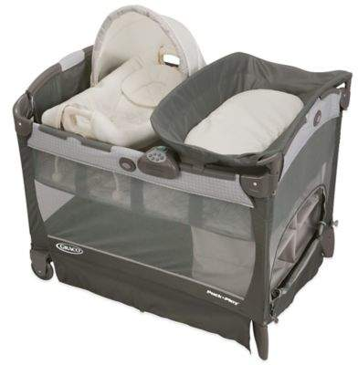 Graco® Pack 'n Play® Playard with Cuddle CoveTM Removable Seat in GlacierTM