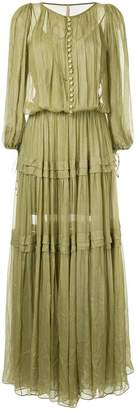 Maria Lucia Hohan buttoned maxi dress