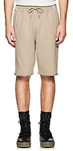 Helmut Lang Men's Cotton Terry Basketball Shorts - Gray