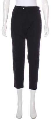 Nili Lotan Cropped High-Rise Pants