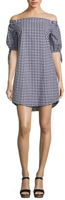 A.N.A Elbow Sleeve Sheath Dress