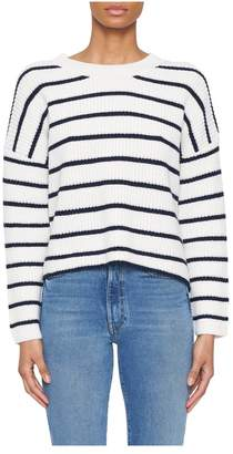 A.L.C. Portland Striped Crewneck Sweater