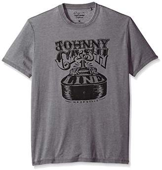 Lucky Brand Men's Cash Guitar Graphic Tee