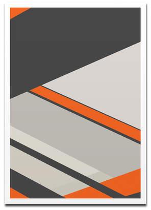 Harari Asi Orange and Grey
