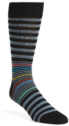 Men's Bugatchi Donegal Stripe Socks $19.95 thestylecure.com