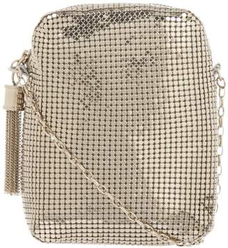 Whiting & Davis Chain Tassel Pouch 1-5810PL Crossbody